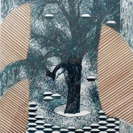 Tree Of Gifts – Dark Green/Gold
