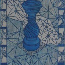 Small Fountain – Blue